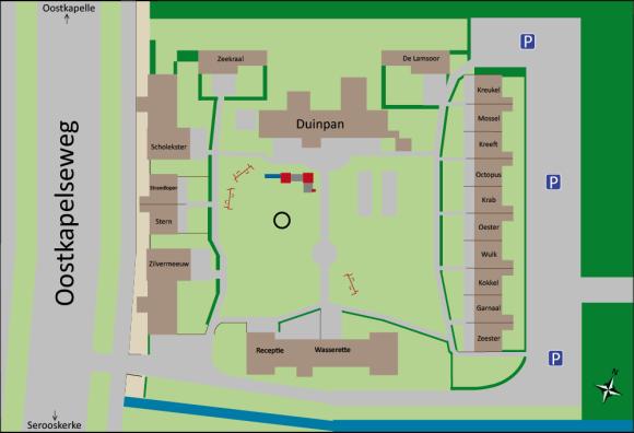 plattegrond SteeAanZee